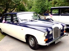 Daimler wedding car in Nottingham